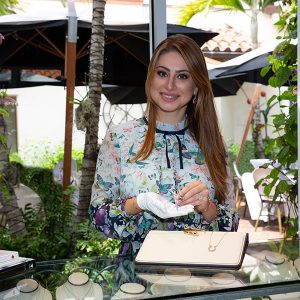 Karina Brez will open her first permeant retail location in Palm Beach to highlight her equestrian jewelry and more.