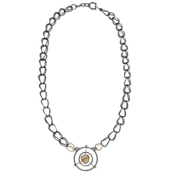 Lola Zyscovich rutilated quartz chain