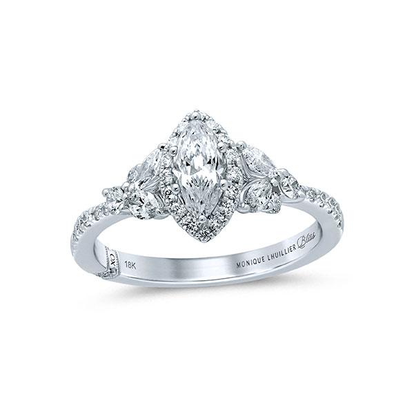 Monique Lhuillier marquise diamond