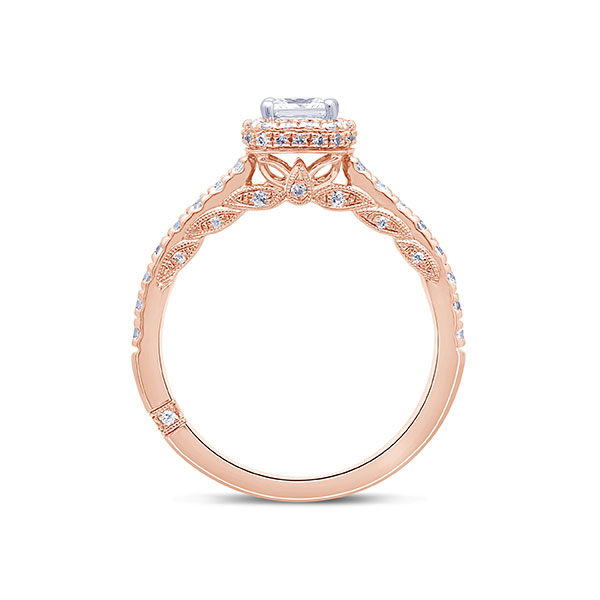 Monique Lhuillier rose gold ring