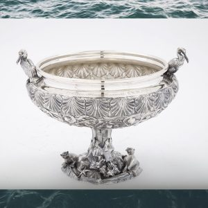 Mystic Seaport Tiffany punch bowl
