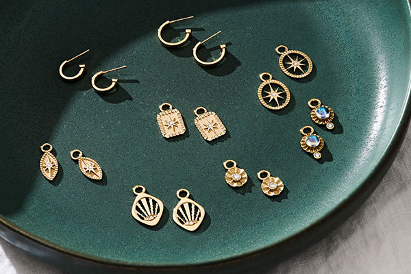 Pamela Zamore assorted earring charms