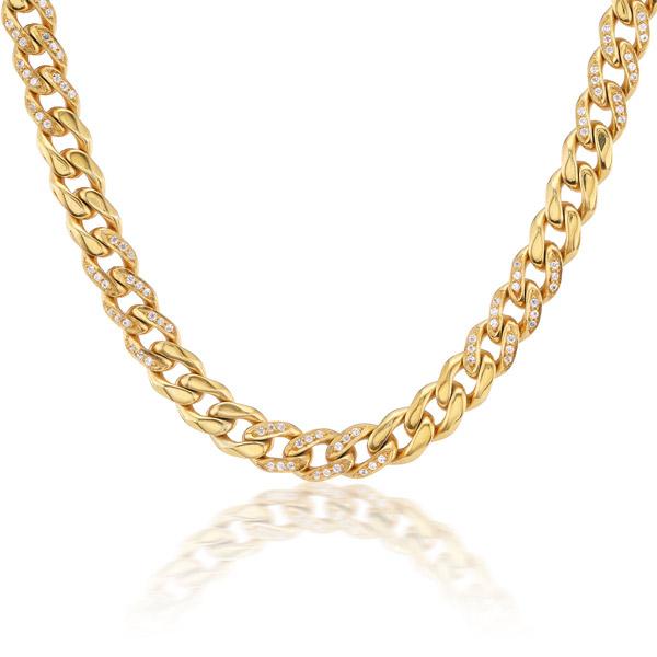 Preeti Sandhu pave curb chain