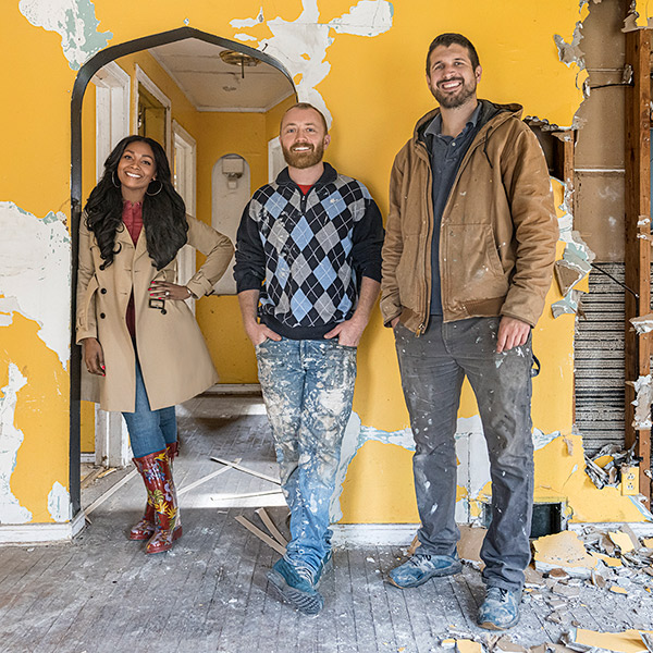 """Shea Whitfield-Hicks is the real estate experts on HGTV's hit series, """"Bargain Block."""""""