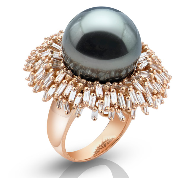 Suzanne Kalan Tahitian pearl ring