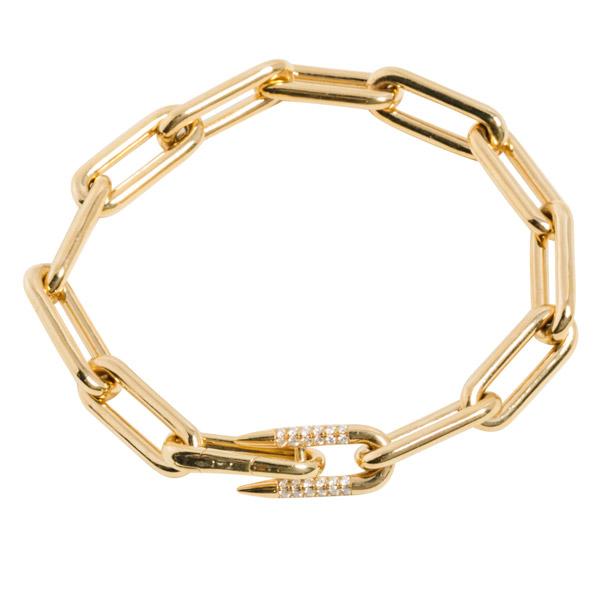 Uniform Object Heavy Metal bracelet