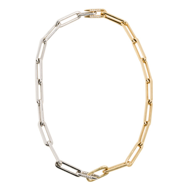 Uniform Object Heavy Metal necklace