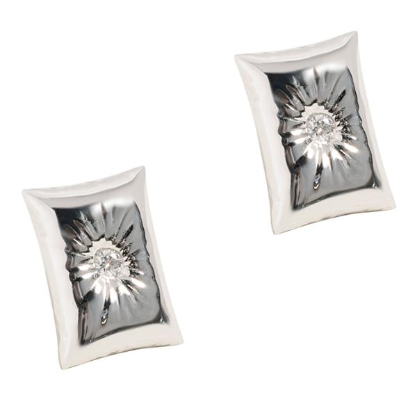 Uniform Object pillow earrings