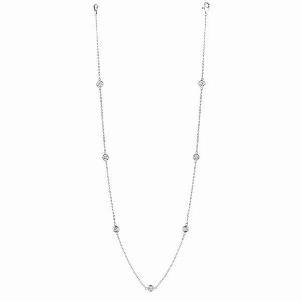 Morris David diamond by the yard necklace