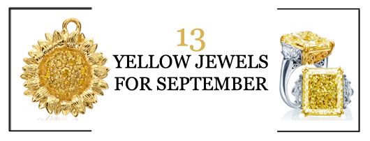 13 yellow jewels for September