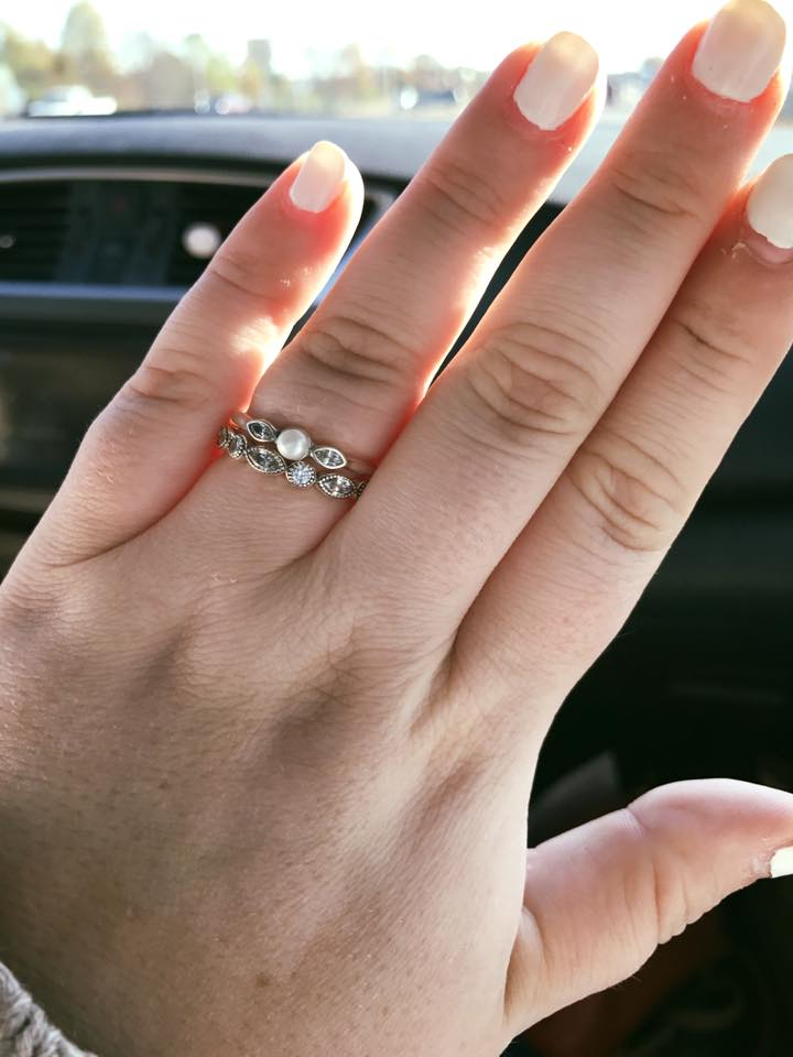 after ariel mcrae wrote a facebook post about being shamed for her 130 wedding ring set by an employee at a pandora store in tennessee her story went - Pandora Wedding Rings