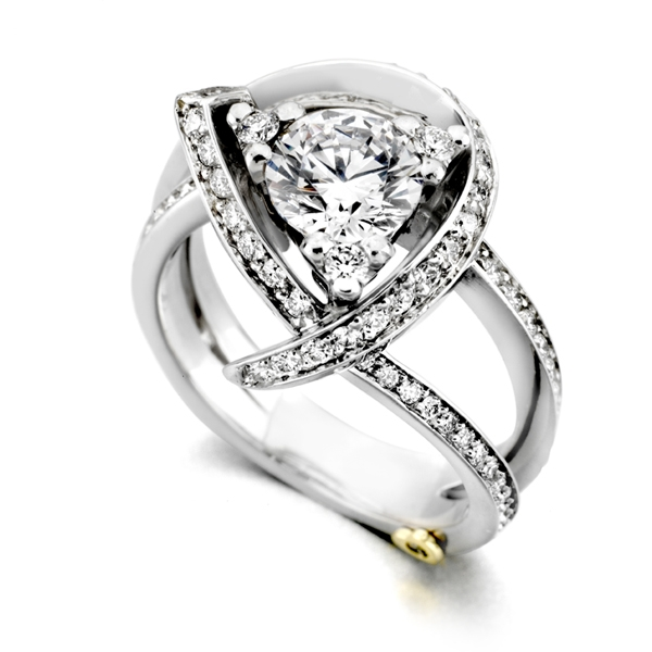 Mark Schneider Luxury diamond engagement ring