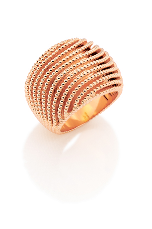 Rose gold ring from Carla Amorim