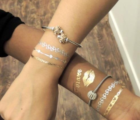 Persona flash tattoos gift with purchase