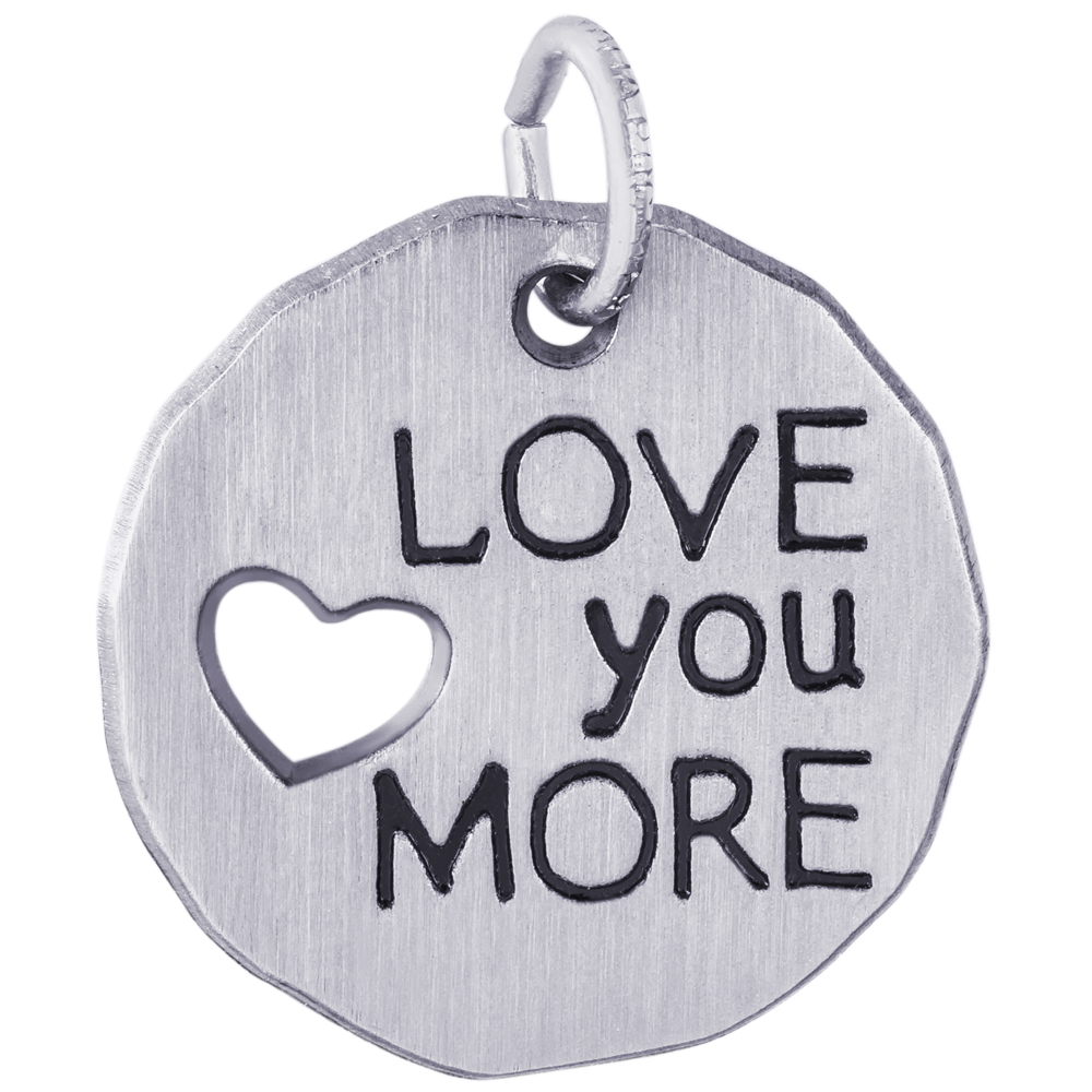 Rembrandt Charms Love You More circle charm