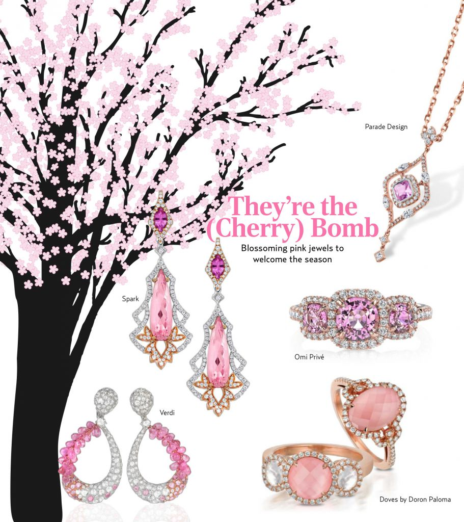 5 Pink Jewels in the Spirit of D.C.'s Cherry Blossoms - JCK