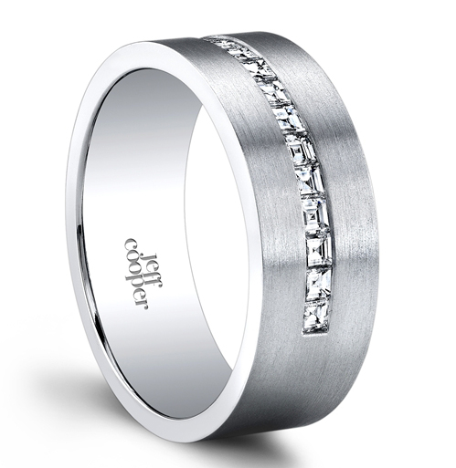 Jeff Cooper Designs Montauk men's wedding band