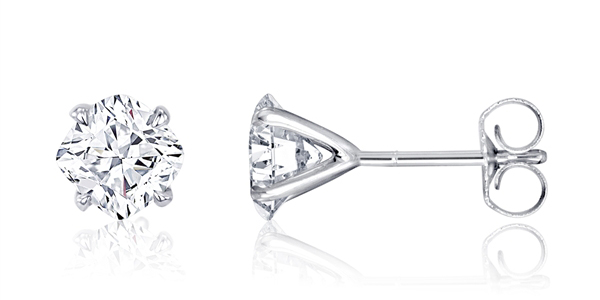 Nader Kash cushion-cut diamond stud earrings