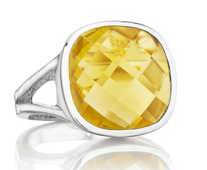 Thistle & Bee Etoiles citrine ring