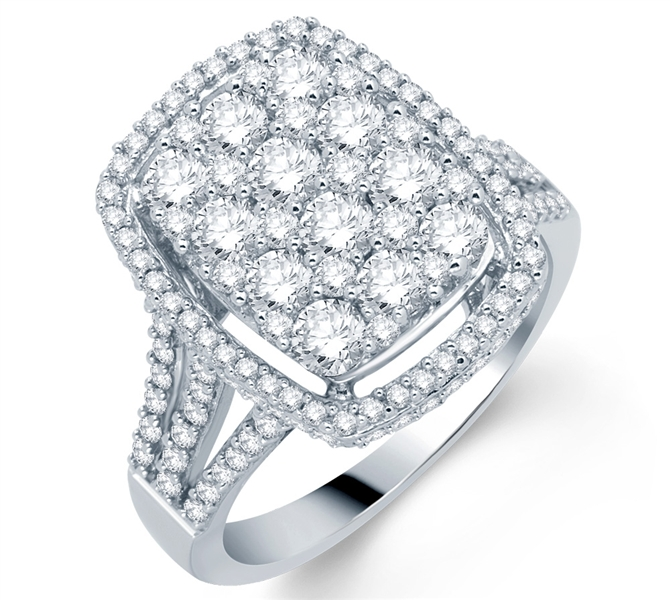 Kiran Jewels The Empress diamond ring