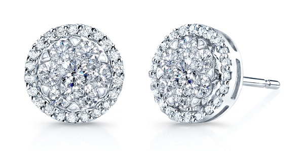 Coronet Diamonds Chamahez stud earrings