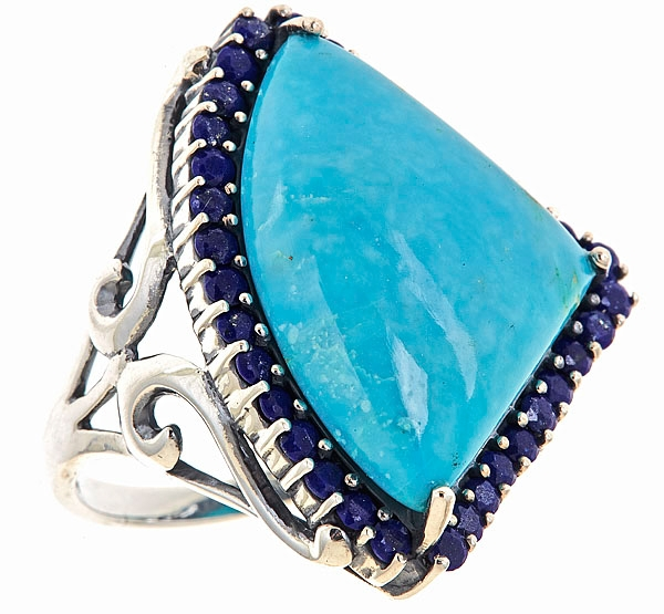 SNS Jewelry Studio turquoise Shark Tooth ring