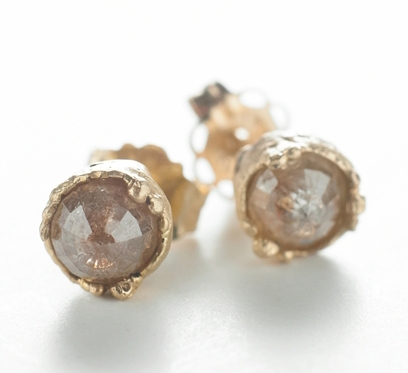 Dawes Design small Dewdrop stud earrings