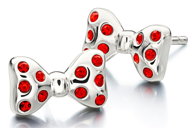 Chamilia Minnie Mouse collection stud earrings