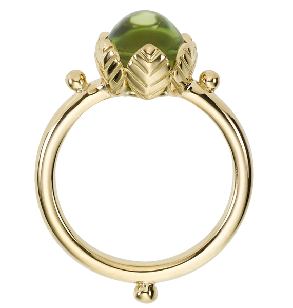 Temple St. Clair peridot Arcadia ring