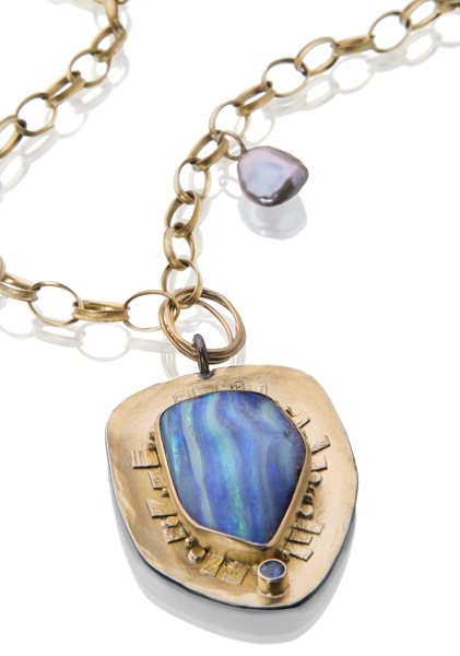 Sydney Lynch Juno opal necklace