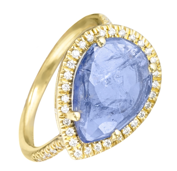 Lauren K tanzanite Mischa ring