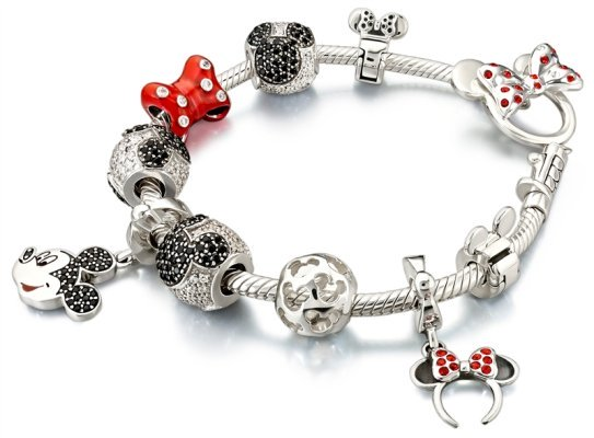 Chamilia's Minnie Mouse collection bracelet
