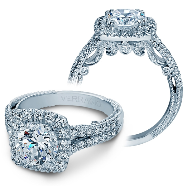 Verragio Insignio collection diamond engagement ring