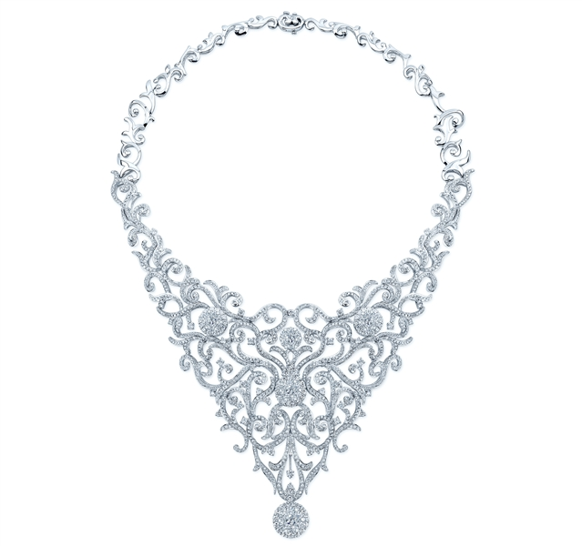 Coronet Diamonds Hekate diamond collar necklace