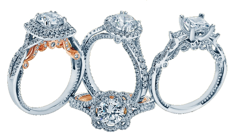 Verragio Couture diamond engagement ring