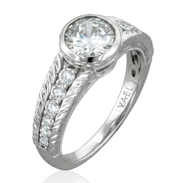 Yael Designs Novelique Clare engagement ring