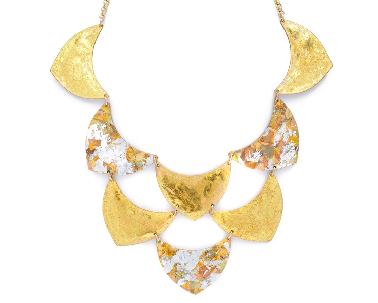 Evocateur Cleopatra bib necklace