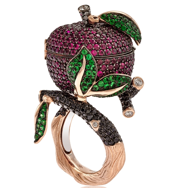 Italian Design Jewellery Once Upon a Time Snow White ring