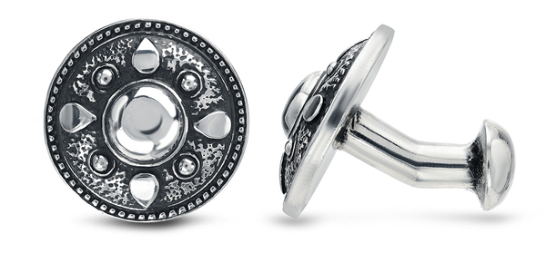 Kaura Jewels Shield cufflinks