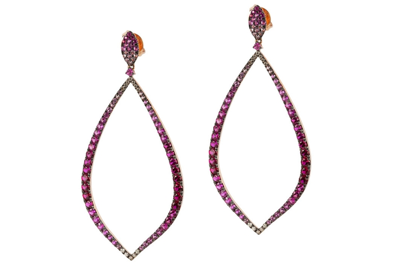 Bassali Jewelry Perfectly Pink drop earrings