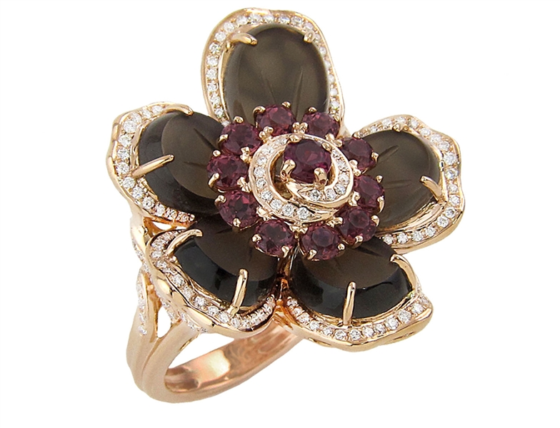 BELLARRI Medemoisselle D' Paris flower ring