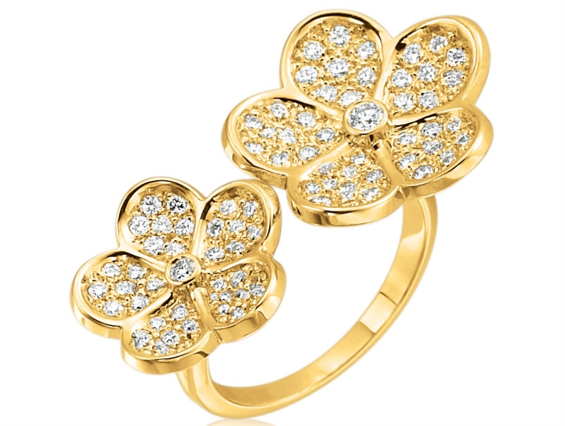 Gumuchian G Boutique floating Kelly ring