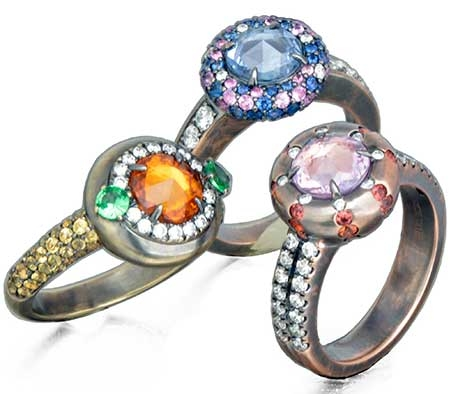 Christophe Danhier Evolution collection rings