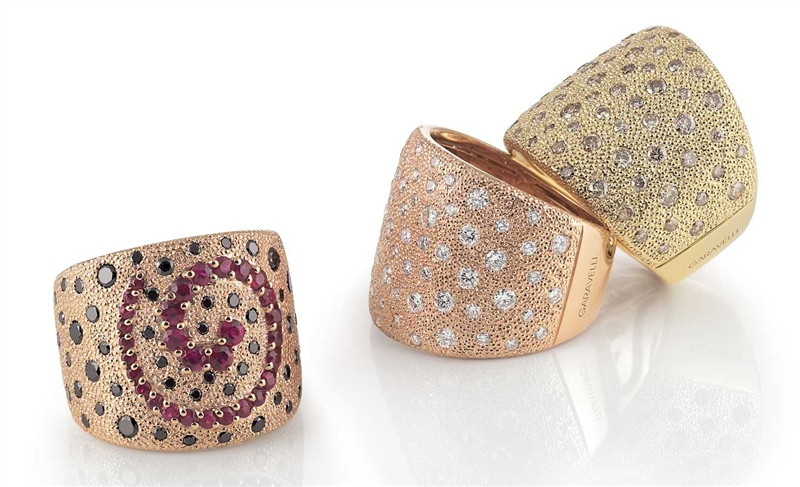 Garavelli Dune collection rings