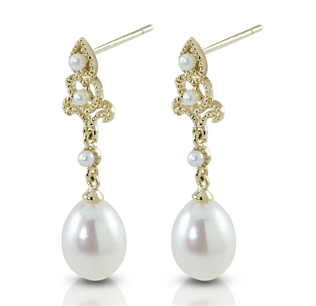 Imperial Pearl Vintage795 pearl earrings