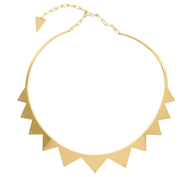 Jack Vartanian Edgy collar necklace