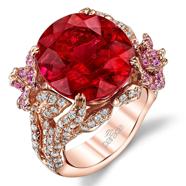 Parade Design Parade in Color rubellite Garden ring