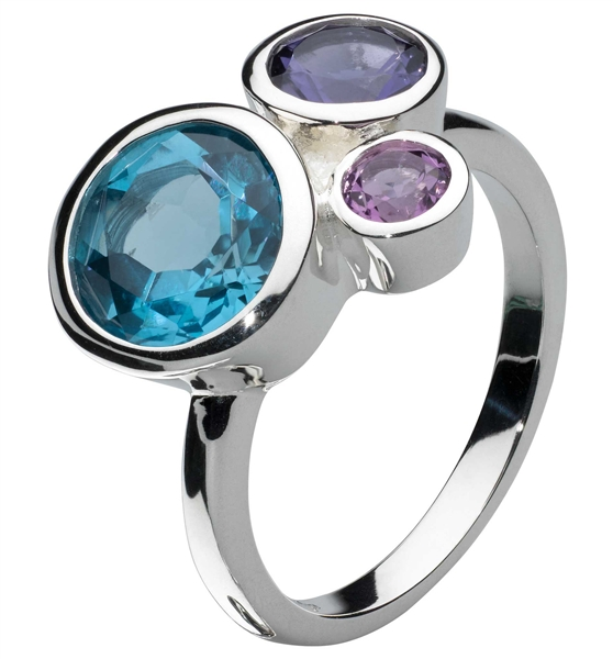 Kit Heath Society Blue Cascade ring