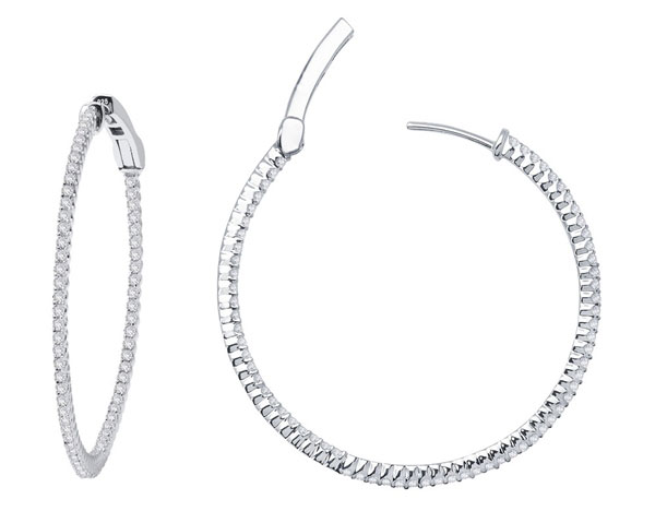 Bi Shang Corp hoop earrings