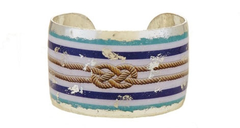 Evocateur Nautical Knot cuff bracelet